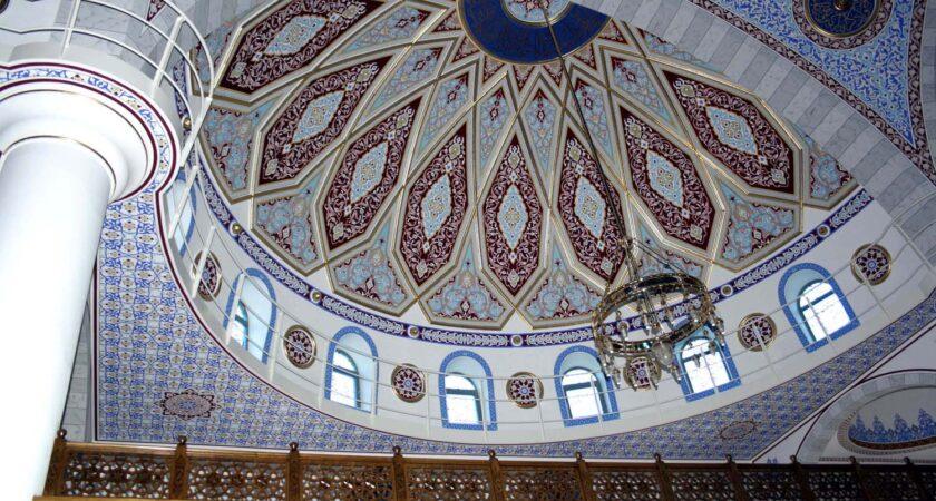 Die Kuppel der Merkez-Moschee.