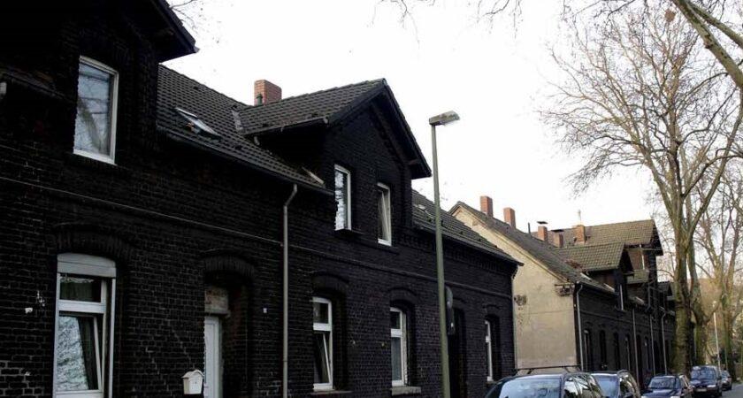 Alte Häuser in Marxloh.