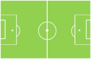Grafik Fußball-Feld
