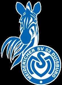 Logo MSV Duisburg mit Zebra