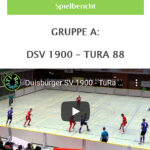Vroschau Hallenfußball DSV 1900-Tura 88