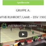 Vorschau Hallenfußball Ruhrort/Laar-DSV 1900